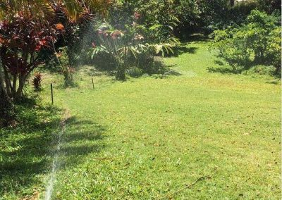 Oahu Sprinkler lawn watering set-up